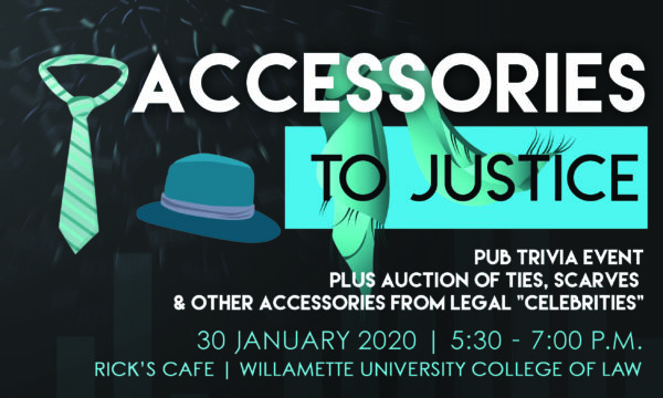 Accessories to Justice Flyer