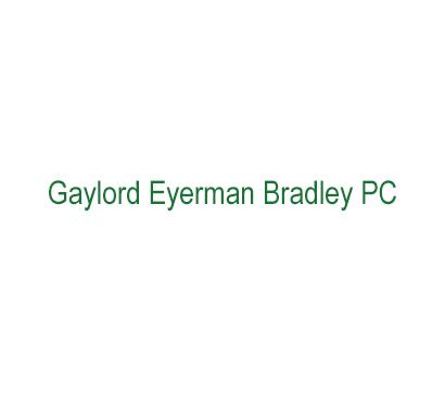Gaylord Eyerman Bradley